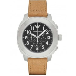 Emporio Armani Mens Chronograph Strap Watch AR6060