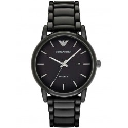 Emporio Armani Mens Ceramic Bracelet Watch AR1508