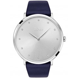 Hugo Boss Ladies Jillian Blue Strap Watch 1502410