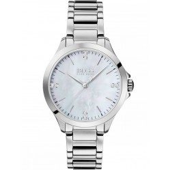 BOSS Ladies Diamonds For Her Mother Of Pearl Dial Bracelet Watch 1502522