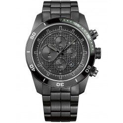 Hugo Boss Mens Black Chronograph Bracelet Watch 1512658
