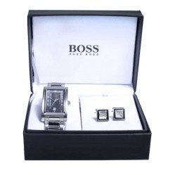 Hugo Boss Mens Watch and Cufflink Gift Set 37153
