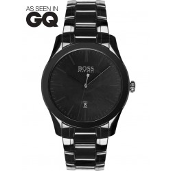 Hugo Boss Mens GQ Ceramic Bracelet Watch 1513223