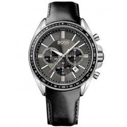 Hugo Boss Mens Driver Sport Chronograph Strap Watch 1513085
