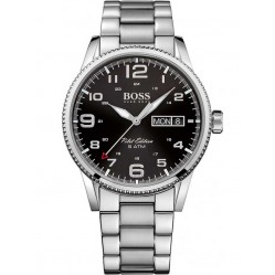 Hugo Boss Mens Pilot Vintage Bracelet Watch 1513327