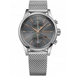 Hugo Boss Mens Jet Chronograph Bracelet Watch 1513440(ADV16)