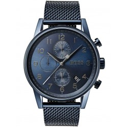 Hugo Boss Mens Navigator Chronograph Watch 1513538