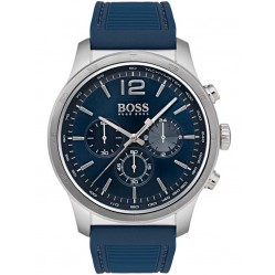 Hugo Boss Mens The Pro Chronograph Strap Watch 1513526