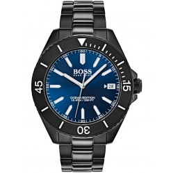 BOSS Mens Ocean Edition Black Bracelet Watch 1513559