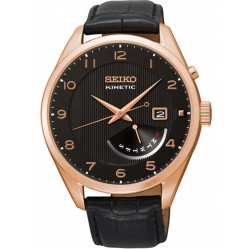 Seiko Mens Kinetic Strap Watch SRN054P1
