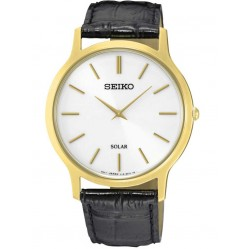 Seiko Mens Solar Powered Watch SUP872P1