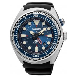 Seiko Prospex PADI Divers Kinetic Black Rubber Strap Watch SUN065P1