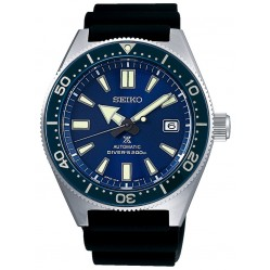 Seiko Prospex Divers Automatic Blue Rubber Strap Watch SPB053J1