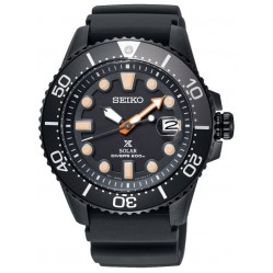 Seiko Prospex Sea Divers Black Strap Watch SNE493P1