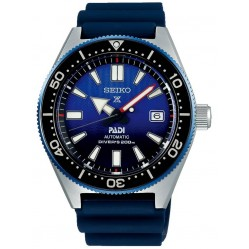 Seiko Prospex PADI Divers Automatic Blue Rubber Strap Watch SPB071J1