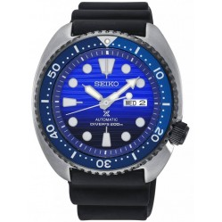 Seiko Prospex Save The Ocean Special Edition Automatic Blue Rubber Strap Watch SRPC91K1