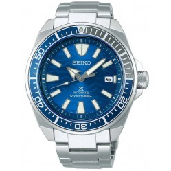 Seiko Mens Prospex Automatic Blue Dial Bracelet Watch SRPD23K1