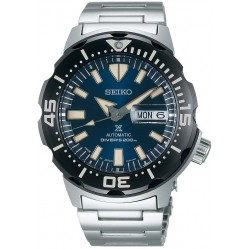 Seiko Mens Prospex Automatic Divers Blue Dial Bracelet Watch SRPD25K1