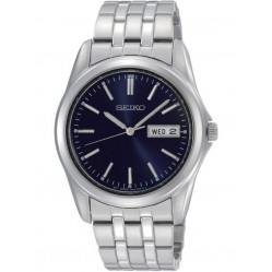 Seiko Mens Discover More Blue Bracelet Watch SGGA41P1