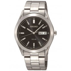 Seiko Mens Solar Bracelet Watch SNE039P1