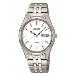 Seiko Mens Solar Bracelet Watch SNE031P1