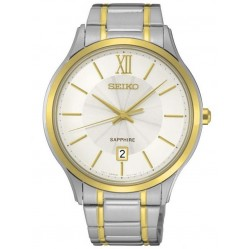 Seiko Mens Two Tone Watch SGEH54P1
