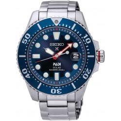 Seiko Mens Prospex Divers PADI Special Edition Solar Blue Bracelet Watch SNE435P1