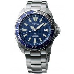 Seiko Mens Prospex Divers Automatic Blue Bracelet Watch SRPB49K1