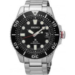Seiko Mens Prospex Diver Solar Bracelet Watch SNE437P1
