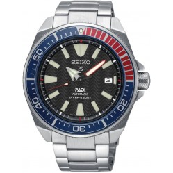 Seiko Mens Prospex Divers PADI Automatic Black Bracelet Watch SRPB99K1