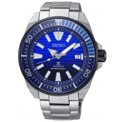 Seiko Prospex Save The Ocean Special Edition Automatic Blue Bracelet Watch SRPC93K1