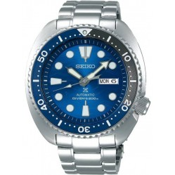Seiko Mens Prospex Automatic Divers Blue Dial Bracelet Watch SRPD21K1