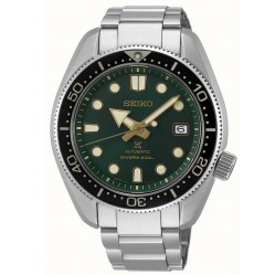 Seiko Mens Prospex Automatic Limited Edition Diver Green Dial Stainless Steel Bracelet Watch SPB105J1