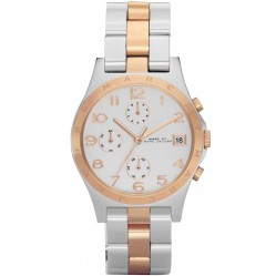 Marc Jacobs Ladies Henry Chronograph Watch MBM3070
