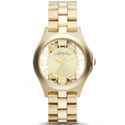 Marc Jacobs Ladies Henry Skeleton Watch MBM3292