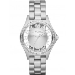 Marc Jacobs Ladies Henry Glitz Watch MBM3337