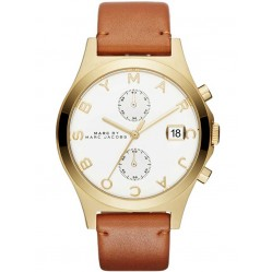 Marc Jacobs Ladies Slim Chronograph Watch MBM1396