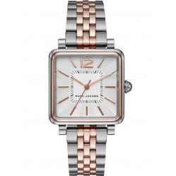 Marc Jacobs Ladies Vic Two Tone Watch MJ3463