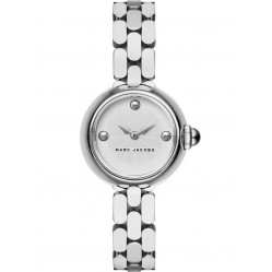Marc Jacobs Ladies Courtney Silver Watch MJ3456