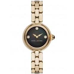 Marc Jacobs Ladies Courtney Gold Plated Bracelet Watch MJ3460
