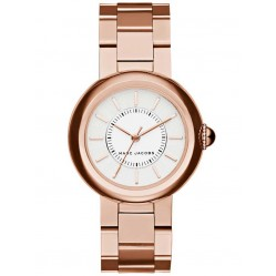 Marc Jacobs Ladies Courtney Rose Gold Plated Bracelet Watch MJ3466