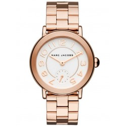 Marc Jacobs Ladies Riley Rose Gold Plated Bracelet Watch MJ3471