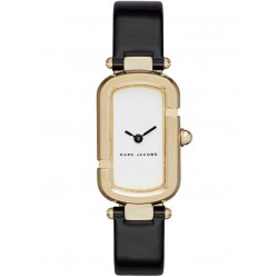 Marc Jacob Ladies Gold Plated Strap Watch MJ1487