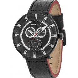 Police Mens League Strap Watch 15040XCYB/02