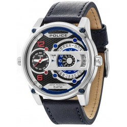 Police Mens D-Jay Strap Watch 14835JS/02