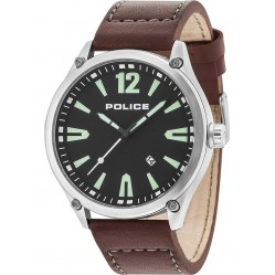 Police Mens Black Denton Watch 15244JBS/02