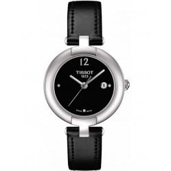 Tissot Ladies T-Lady Pinky Leather Strap Watch T084.210.16.057.00