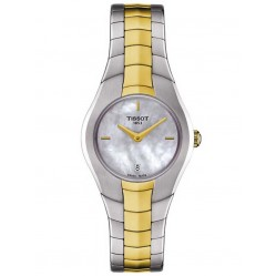 Tissot Ladies T-Round Two Tone Bracelet Watch T096.009.22.111.00