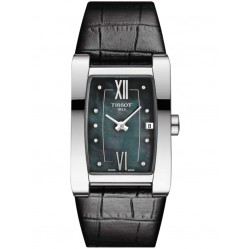Tissot T-Lady Generosi-T Black Strap Watch T105.309.16.126.00