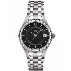 Tissot T-Lady Black Dial Bracelet Watch T072.010.11.058.00